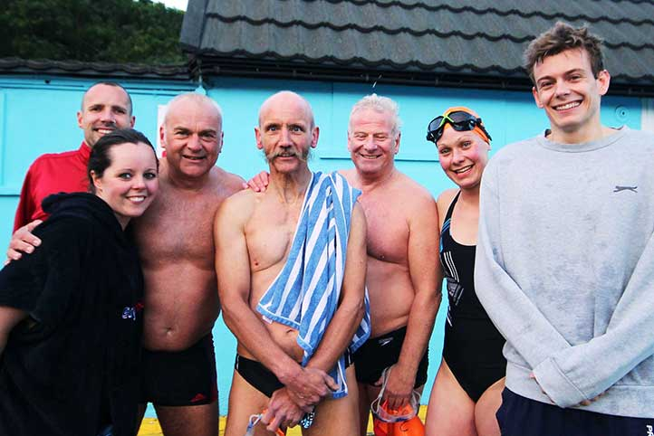 Brockwell Lido Swimmers go to Tooting